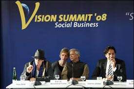 Vision Summit Podium
